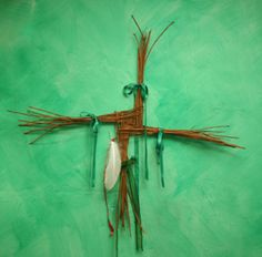 For Imbolc decorate your altar with snowdrops, swan feathers, a Brighid Cross, a Bridey Doll, white and green candles. Celtic Tree, Irish Celtic, Magick, Witchcraft, Yule, Brigid's Cross, Triple Goddess, Sabbats, Groundhog Day