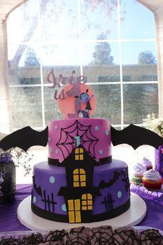 Birthday Cake Girls, 4th Birthday Parties, Birthday Bash, Birthday Ideas, Halloween Cakes, Halloween Birthday, Barbie Party, Party Cakes, First Birthdays