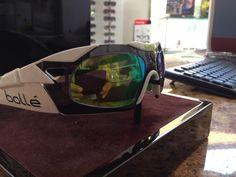 Gafas graduadas Bolle New 6th Sense S (blanca y verde esmeralda)