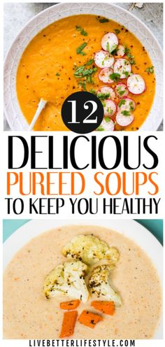 These delicious pureed vegetable soup recipes is what you need to keep you healthy! Definitely pinning for later! These delicious pureed vegetable soup recipes is what you need to keep you healthy! Definitely pinning for later! Pureed Vegetable Soup Recipe, Puree Soup Recipes, Vegetable Soup Healthy, Pureed Soup, Pureed Food Recipes, Healthy Vegetables, Healthy Soup Recipes, Cooking Recipes, Veggies