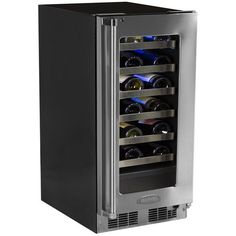 Marvel 24 Bottle 15  Built-In Pro Single Zone Wine Cooler with Lock