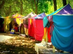 fortune tellers' tents
