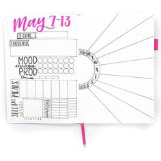 Self-Esteem Building Tracker Journal Printable Graph