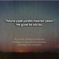 """""""Yoluna çiçek yürekli insanlar çıksın.""""  Ne güzel bir söz bu.   (Kaynak: Instagram - hikmetaniloztekin)   #sözler #anlamlısözler #güzelsözler #manalısözler #özlüsözler #alıntı #alıntılar #alıntıdır #alıntısözler #şiir #edebiyat Insta Story, Feelings, Learning, Quotes, Books, Instagram, Turkish Language, Quotations, Libros"""