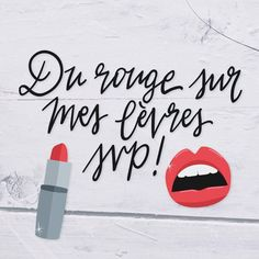 DU ROUGE SUR MES LÈVRES SVP !!!  #MonCahierBeauté #Beauté #Beauty #Intermarché