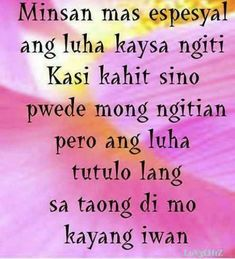 Inspirational Tagalog Love Quotes and Sayings with images and pictures. Funny and true love tagalog quotes for her and for him. Love quotes for all! Crush Quotes Tagalog, Tagalog Quotes Patama, Tagalog Quotes Hugot Funny, Short Inspirational Quotes, Inspirational Artwork, Motivational, Love Quotes With Images, Love Quotes For Her, Best Love Quotes