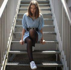 """""""Les escaliers montent ou descendent selon le sens où on les prends"""" - Mode Elle"""