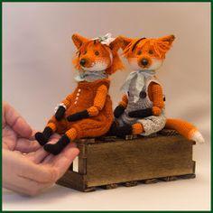 Грушки И ДелкиPRO. Вязаные крючком.: Рыжие, честные, влюблённые или лис много не бывает...