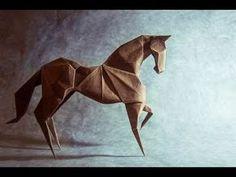 Origami horse by Hideo Komatsu - YouTube