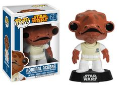 Pop! Star Wars: Admiral Ackbar | Funko