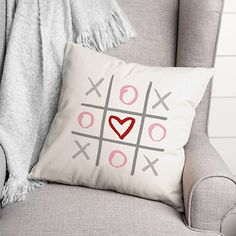 I love you 12x16 pillow Valentine day gift for her
