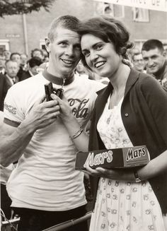 Mars reclame en wielrennen 1969-1972