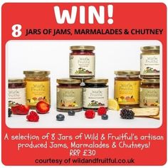 Competitions Jar Of Jam, Competition Giveaway, Farm Shop, Chutney, Artisan, Fruit, Food, Craftsman, Essen