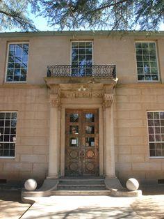 Lowell School Bisbee, AZ copper doors.