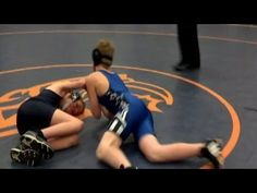 In my opinion, the beauty in this video is that a middle school kid does the most self-less act in the sport of wrestling and gives his opponent, who has CP, the victory in the match between both of them!  The winner's smile says it all.