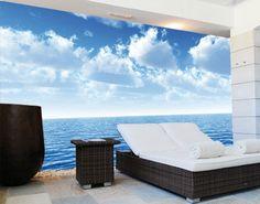 Photo Wall Mural SILENT OCEAN 400x280 wall decor Wallpaper Wall art  Water Sea