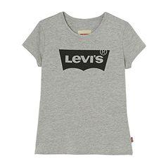 Levi's SS Tee Nos Bat, T-Shirt Fille: tee shirts manches courtes levis n91050j blanc Cet article Levi's SS Tee Nos Bat, T-Shirt Fille est…