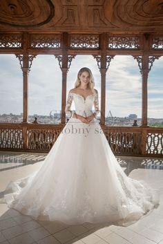 Svadobné šaty: Svadobné šaty - Agentúra Giovanna Dress Luxury, Luxury Wedding Dress, Tulle Wedding, Cheap Wedding Dress, Dream Wedding Dresses, Wedding Gowns, Princess Bridal, Ball Gown Dresses, Wedding Events