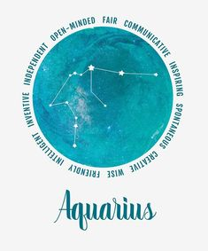 When the Sun moves into mentally active and social Aquarius, it's time to reconnect with the world. Aquarius is an intellectual sign that embraces originality and freedom. Aquarius Symbol, Astrology Aquarius, Aquarius Woman, Zodiac Signs Aquarius, Zodiac Art, Zodiac Star Signs, Aquarius And Aquarius, Astrology Tattoo, Aquarius Traits