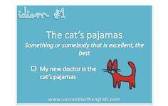 English idiom - the cat's pajamas