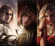 Jaime Lannister/Joffrey Baratheon/Cersei Lannister