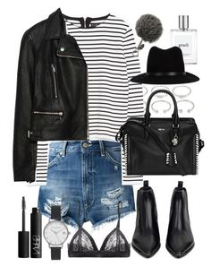 """Outfit for autumn"" by ferned on Polyvore featuring Dondup, Forever 21, Zara, Alexander McQueen, Acne Studios, Samantha Chang, philosophy, NARS Cosmetics, Olivia Burton and rag & bone"