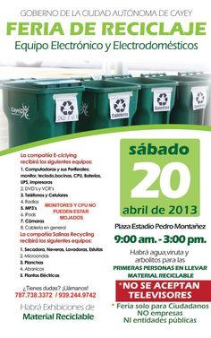 Feria de Reciclaje @ Cayey