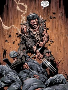 Wolverine Comic Book Pages, Comic Book Characters, Marvel Characters, Comic Books Art, Comic Art, Wolverine Art, Logan Wolverine, Wolverine Cosplay, Hq Marvel