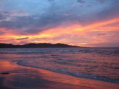 Costan Rica Sunset. Montezuma, Costa Rica. Photo by NRDC BioGems Defender @Freddi Zeiler