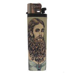 Bearded Lady Lighter