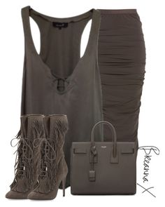 """""""Untitled #2920"""" by breannamules ❤ liked on Polyvore featuring Rick Owens, Isabel Marant, Aquazzura and Yves Saint Laurent"""