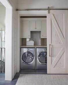 the_real_houses_of_ig  This makes me want to do laundry ... | by Geoff Chick & Associates |  #LAUNDRY  #interiordoor