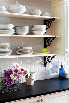 What if we did this in an area instead of upper cabinets?