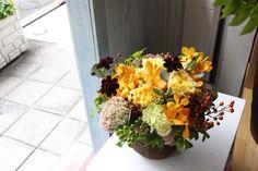 モカラアレンジ/花どうらく/花屋/http://www.hanadouraku.com/flower arrengement/