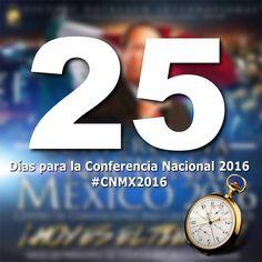 A 25 Dias! #CNMX2016 Registro en linea a precio especial en: www.alcancevictoriamexico.org