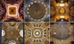 Mohammad Domiri creates his mesmerising works using a variety of techniques such as panoramic shots and fisheye lenses.