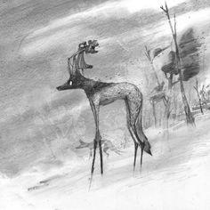 Top 19 des plus belles illustrations de Moon, le graphite au service de la poésie