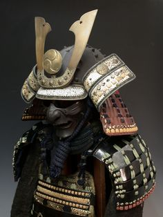 Samurai armor display.