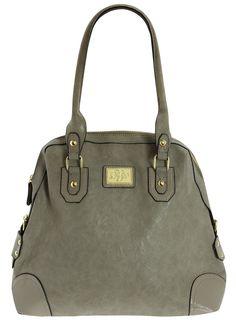 DOROTHY PERKINS SS12  Grey flight bag  £29,50  Color: gris  Ref. 18303962