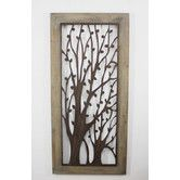 Found it at Wayfair - Metal and Wood Wall Décor