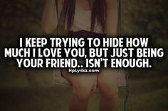 It's not enough.