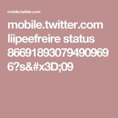 mobile.twitter.com liipeefreire status 866918930794909696?s=09
