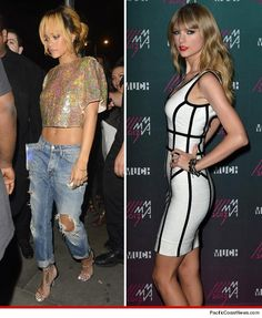 Rihanna vs. Taylor Swift -- Who'd You Rather?