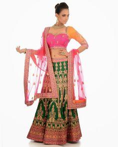 Fashion: Bridal Wear Wedding Lahengas Collection