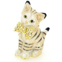 Kitty Cat Trinket Box  $39.99 www.cute-boxes.com