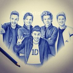 Four years of one direction by artistiq