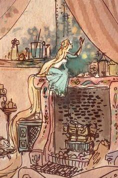 Tangled- Rapunzel concept