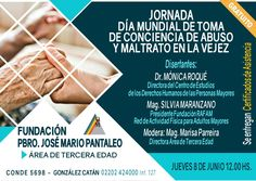 Argentina:Jornada por el no maltrato a la vejez | Central Informativa del Adulto Mayor