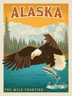 Romantic travel posters of the early Century inspired our American Cities collection. We took this same nostalgic approach in our illustrated homage to modern America. These prints are perfect for showing off where you've lived or loved visiting. Retro Poster, Art Deco Posters, Vintage Travel Posters, Cool Posters, Poster Prints, Party Vintage, Vintage Art, Romantic Vacations, Romantic Travel