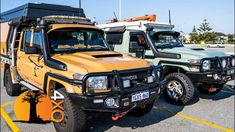 Land Cruiser 79 Camper VS Troopy Camper. What's better? - YouTube